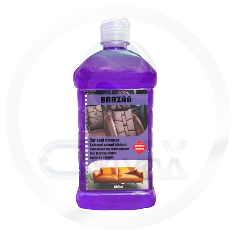 فروشگاه آنلاین ژل تمیزکننده صندلی خودرو فرش و مبلمان برزان کد D600P حجم 600 میلی لیتر